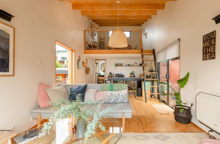 บ้านเล็ก ๆ สไตล์ลอฟท์ (Scandinavian style loft)